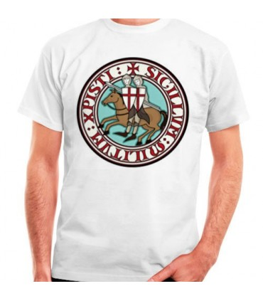 T-shirt Knights Templar, manches courtes