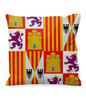 Cojín medieval Escudo Castilla y León