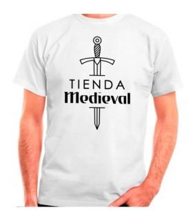T-shirt blanc de la boutique médiévale