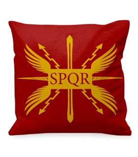 Cojín romano antigua República, SPQR
