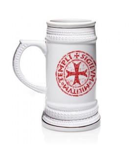 Jarra de cerveza de los Caballeros Templarios