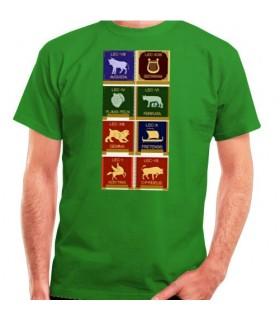 T-shirt des légions romaines, manches courtes
