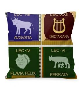 Cojín legiones romanas (diseño ambos lados)