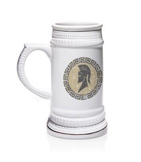 Chope de bière grecque spartiate