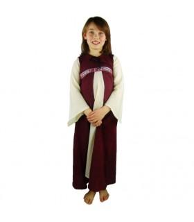 Vestido Piccola Donna bicolor