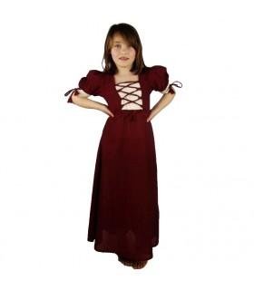 Vestido medieval de verano