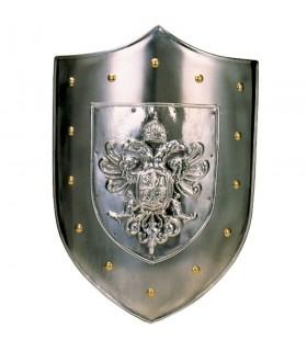 Escudo Metal Águila Bicéfala (63x43 cms.)