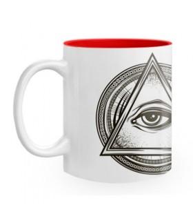 Tasse en céramique Symboles maçonniques