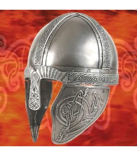 Casque De Viking Décoré