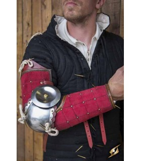 Protection de bras, Paladin, rouge