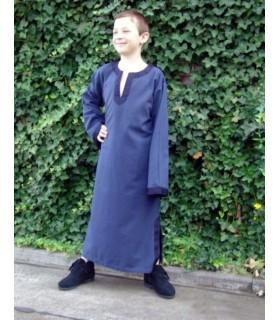 Costume-tunique médiévale pour enfant