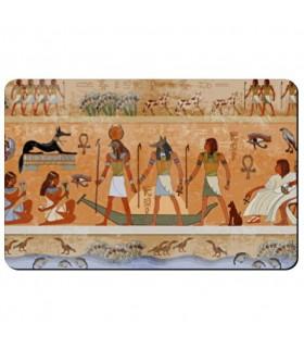 Souple aimant rectangulaire Icônes avec les Égyptiens
