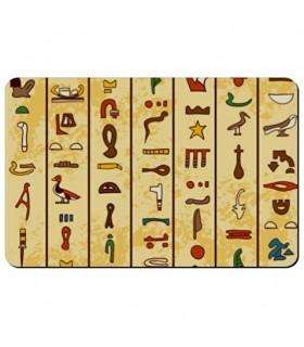 Souple aimant rectangulaire Hiéroglyphes Égyptiens