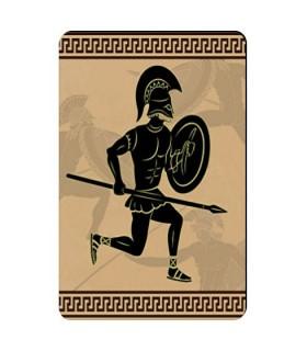 Souple aimant Spartan Warrior