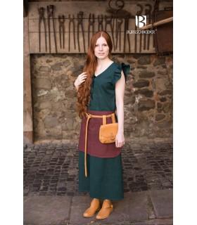Robe Médiévale Femme Agga-Vert