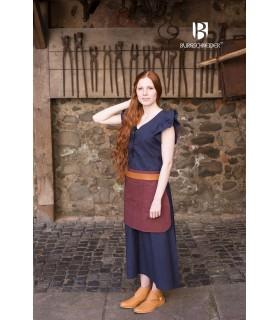 Robe Médiévale Femme Agga-Bleu