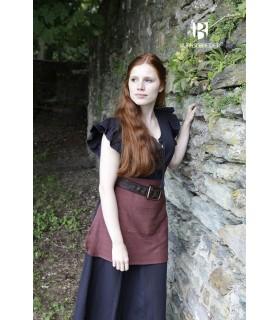 Robe Médiévale Femme Agga Noir