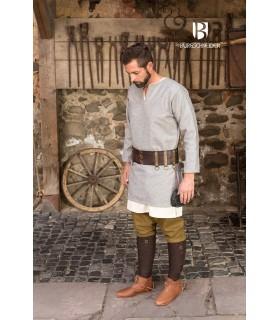 Tunique médiévale Lodin, gris