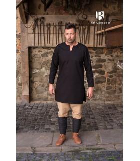 Tunique Médiévale Leif, noir
