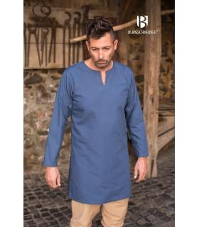 Tunique Médiévale Leif, bleu