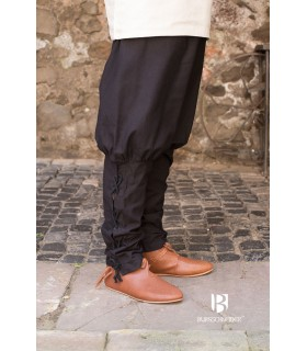 Pantalon médiéval Wigbold, noir
