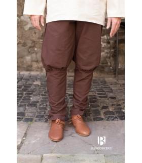 Pantalon médiéval Wigbold, brun