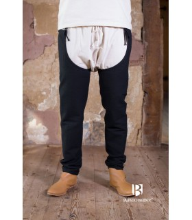 Pantalon médiéval Brandolf, noir