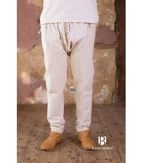 Pantalon médiéval Brandolf, crème
