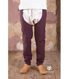 Pantalon médiéval Brandolf, brun