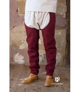Les jambes de laine Bernulf, bordeaux