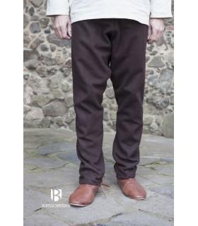 Pantalon médiéval Thorsberg, brun