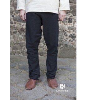 Pantalon médiéval Ragnar, noir
