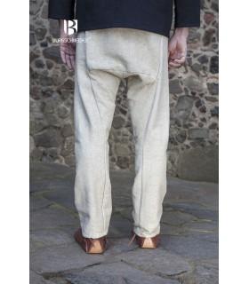 Pantalon médiéval Ragnar, crème