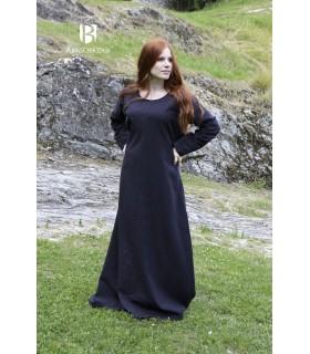 Tunique médiévale Freya, noir