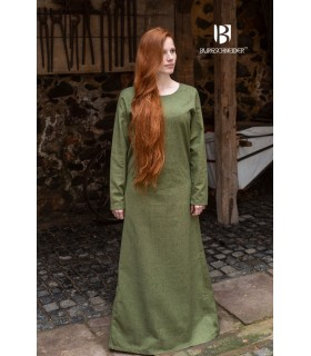Tunique médiévale Freya, vert