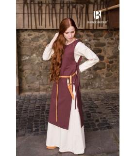 Sobrevesta Médiévale Femme Haithabu-Brun