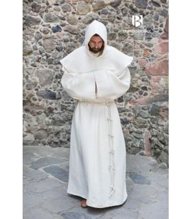 Costume de Moine médiéval Benediktus, blanc
