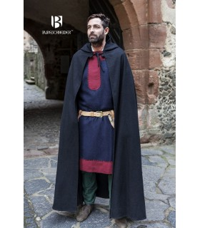 Couche médiéval de la laine Hibernus, noir