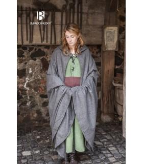 Couche médiéval de la laine Hibernus, gris