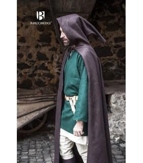 Couche médiéval de la laine Hibernus, brun