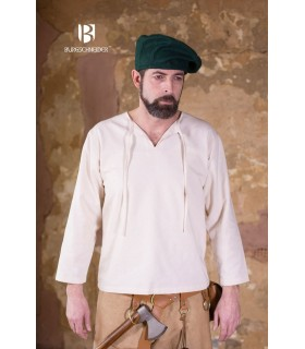 Chapeau renaissance Harald, vert