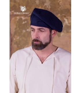 Chapeau renaissance Harald, bleu