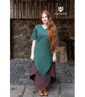 Tunique médiévale Laylin, vert