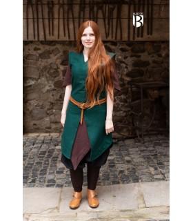 Tunique femme Meril, de la laine vert