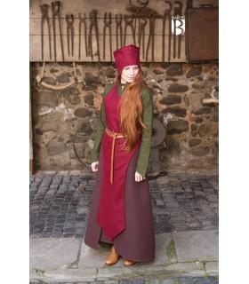 Chapeau du magicien d'adieu, de laine rouge