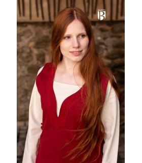 Robe médiévale Lannion, rouge