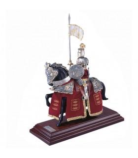 Armure Casque d'équitation anglais Plumes