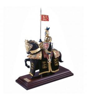 Armure Casque d'équitation du Dragon noir