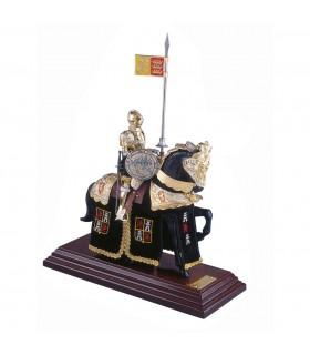 Armure Casque d'équitation noir anglais