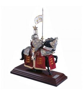 Armure Casque d'équitation Dragon d'Argent